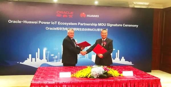 甲骨文(Oracle)与华为公司的战略伙伴关系